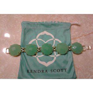 Kendra Scott Chalcedony Green Cassie Bracelet